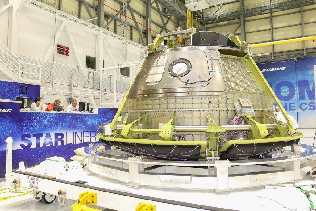 波音的星空號太空船。 圖/取自NASA