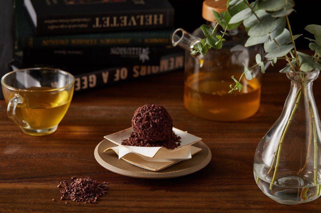 與福灣巧克力合作的可可粩是全球五十佳頂級莊園可可豆,帶有清新柔和的柑橘太妃牛奶糖...