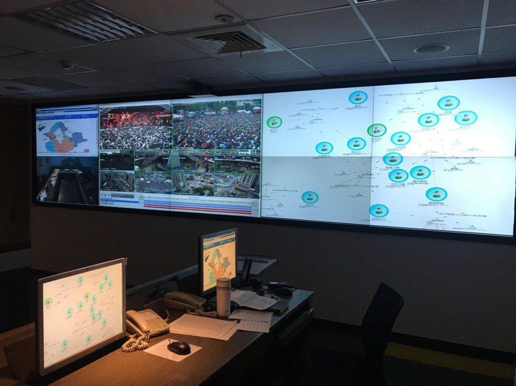 情資整合中心負責整合多項情資來源,協助外勤偵辦案件。 新北市政府警察局/提供