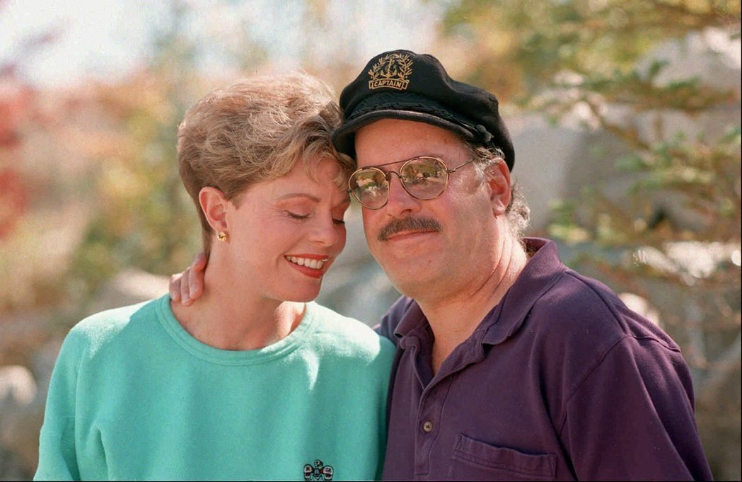 崔根與前妻塔妮爾。 圖/美聯社