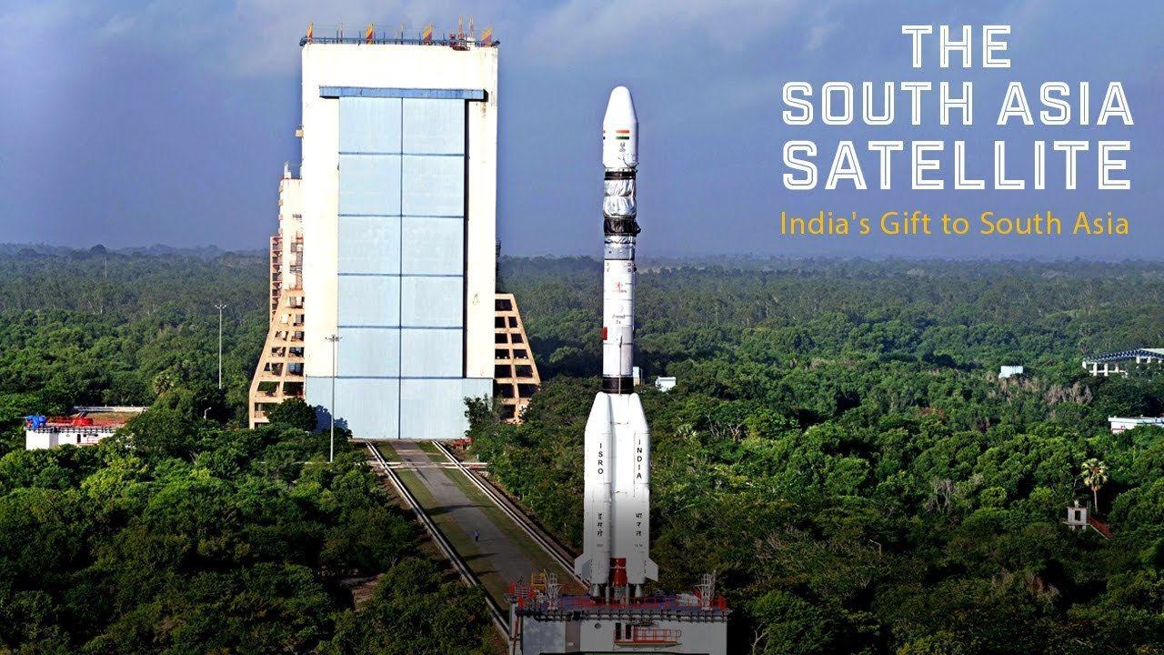 印度於2017年5月5日發射的南亞衛星(South Asia Satellite...