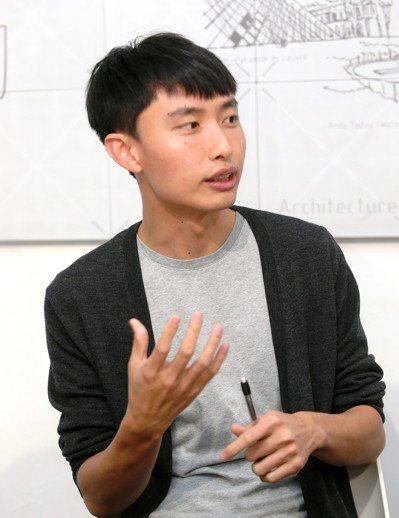One-Forty創辦人陳凱翔。 記者曾吉松/攝影