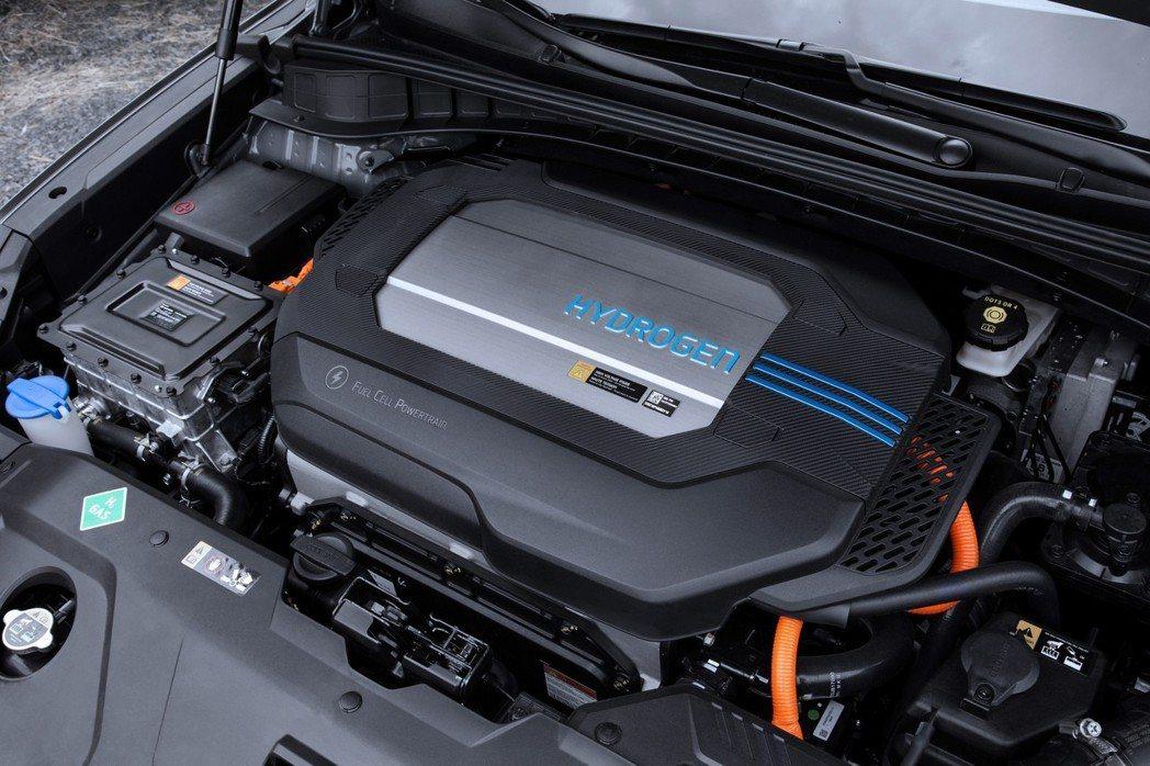 Hyundai Nexo擁有比原有的Tucson FCEV還要大的氫燃料儲存槽。...