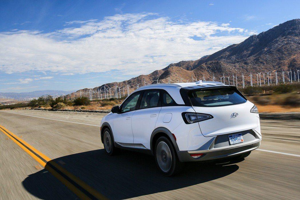 Hyundai Nexo擁有超越600公里的續航距離。 摘自Hyundai