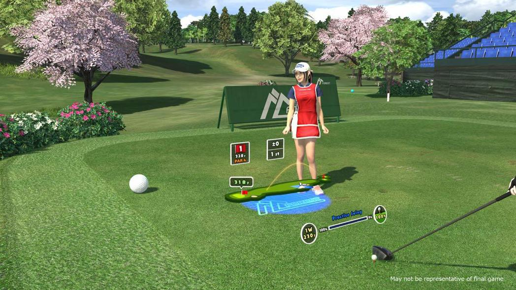 《全民高爾夫 VR》