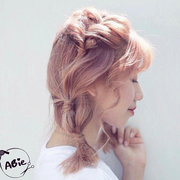 髮型創作/hygge_renee。圖/StyleMap提供