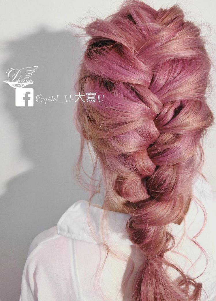 髮型創作/Capital_U-大寫U。圖/StyleMap提供