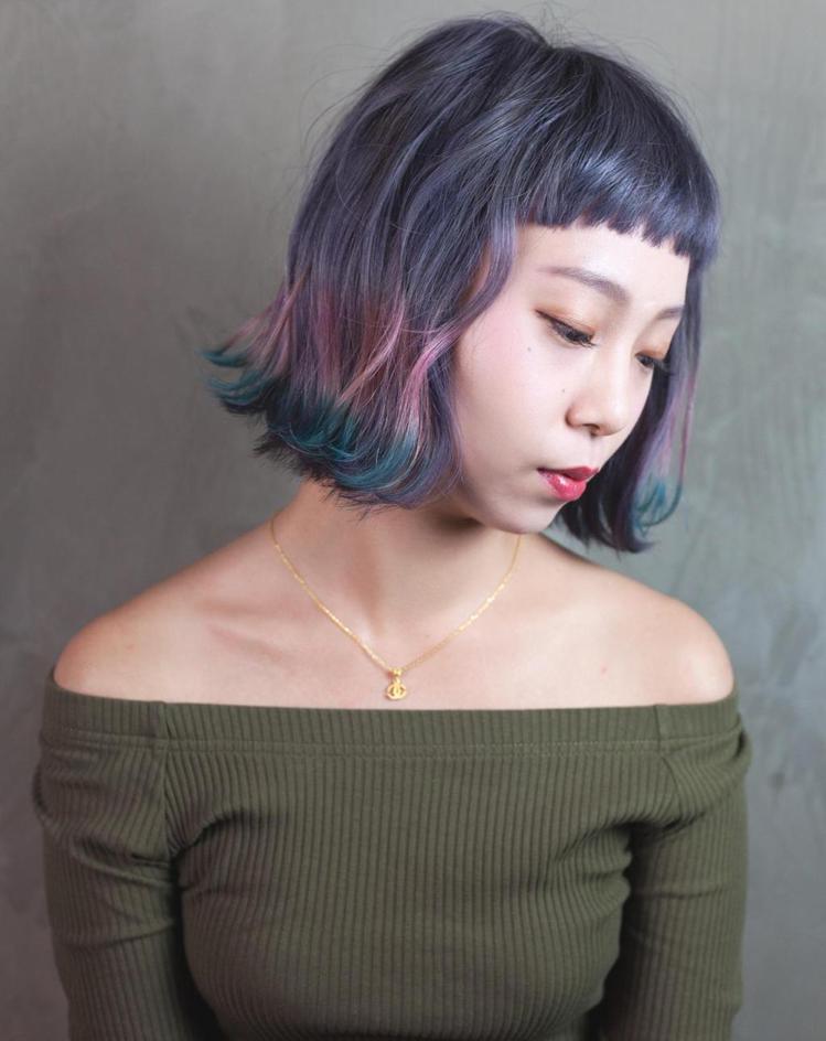 髮型創作/魯夫。圖/StyleMap提供