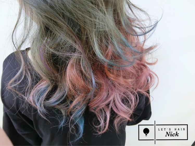 髮型創作/Nick Chen。圖/StyleMap提供