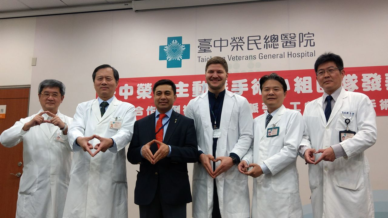 台中榮總心臟血管中心主動脈大血管手術團隊,邀請德國心臟手術專家Prof. Mal...