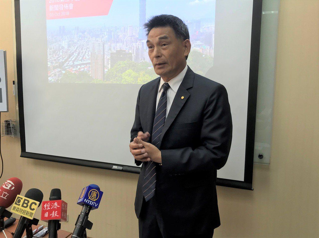 戴德梁行總經理顏炳立。聯合報系資料照/記者游智文攝影