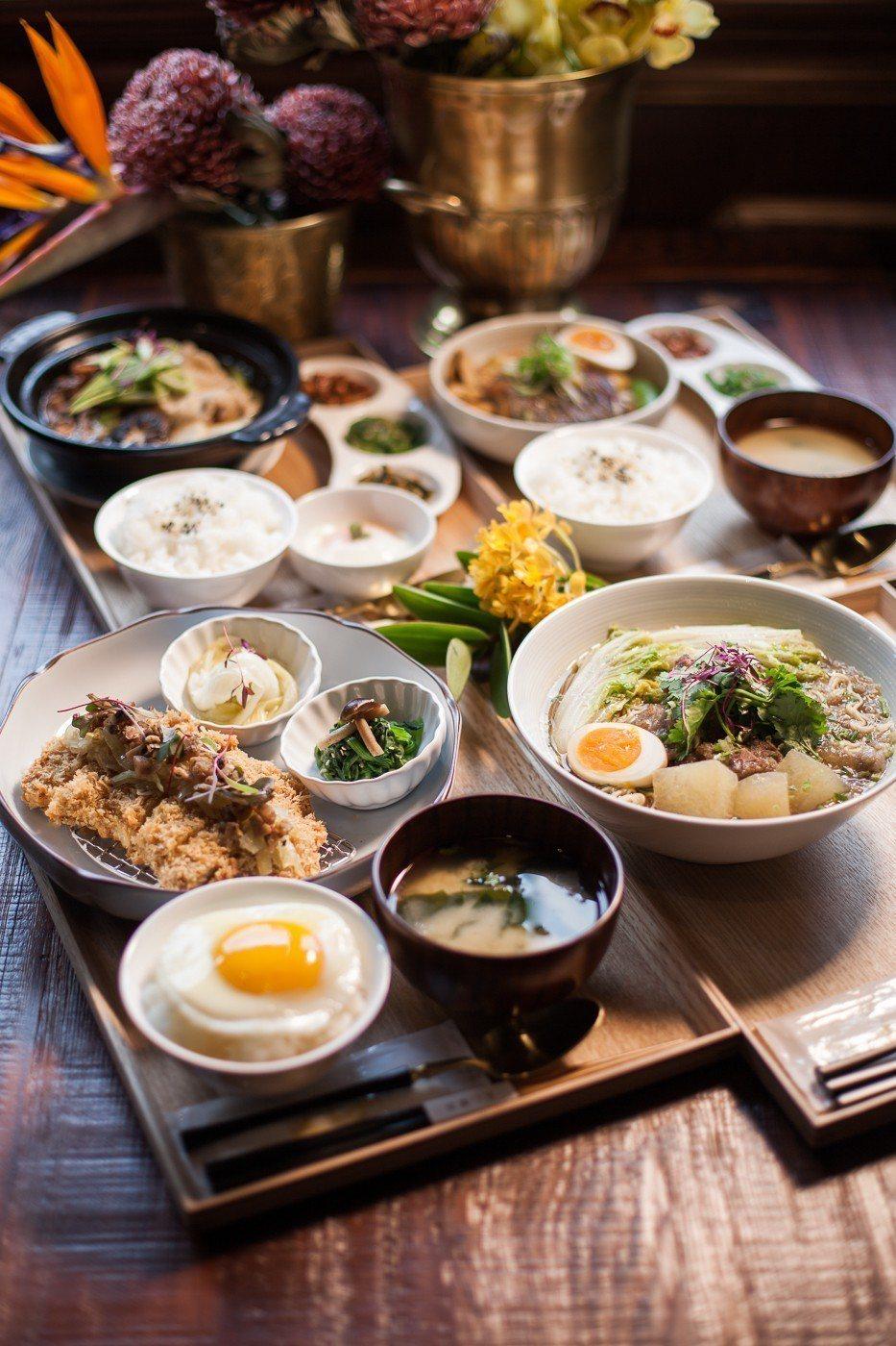 新光南西店限定菜色。圖/永心鳳茶提供
