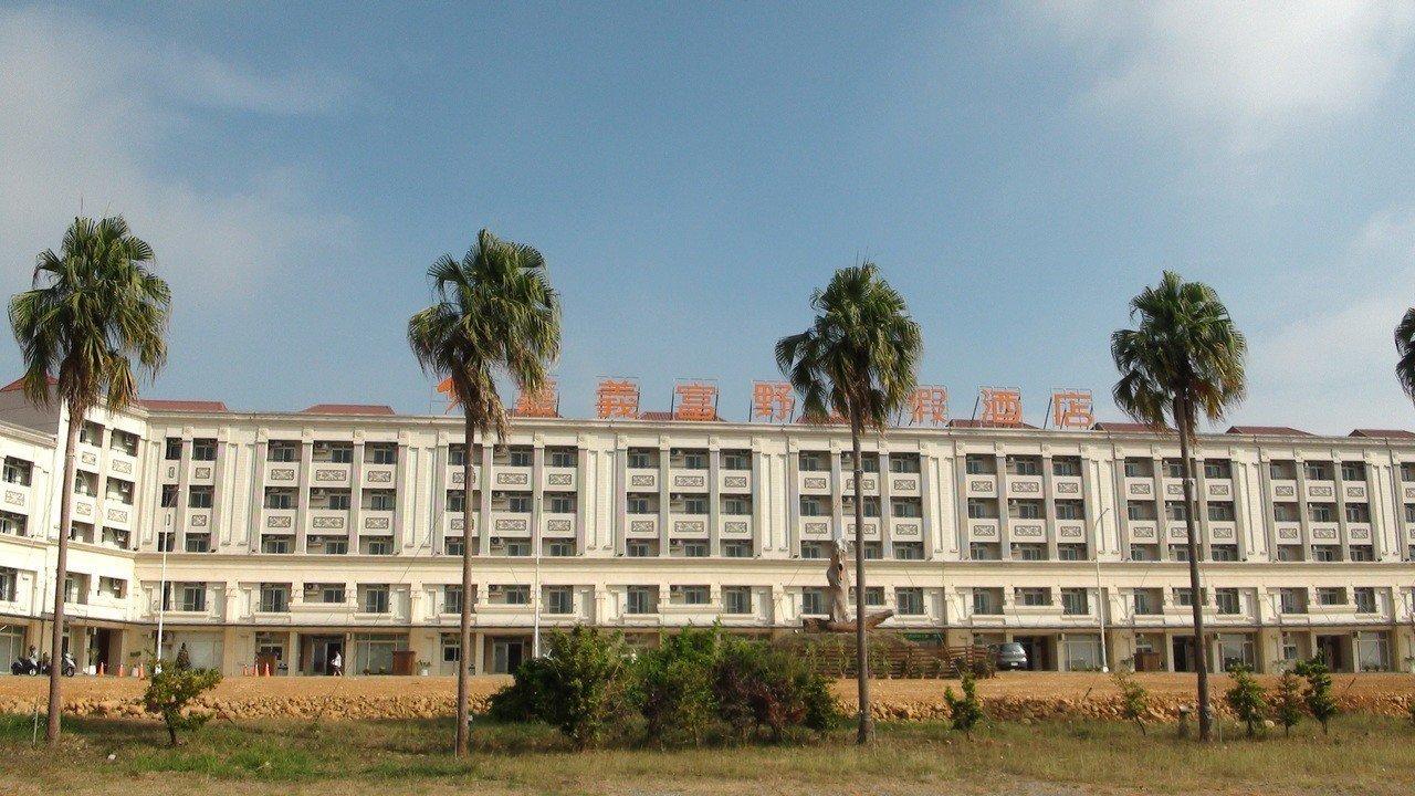 嘉義富野飯店推出嘉義鄉親1月底前周間住宿免費專案。記者謝恩得/攝影