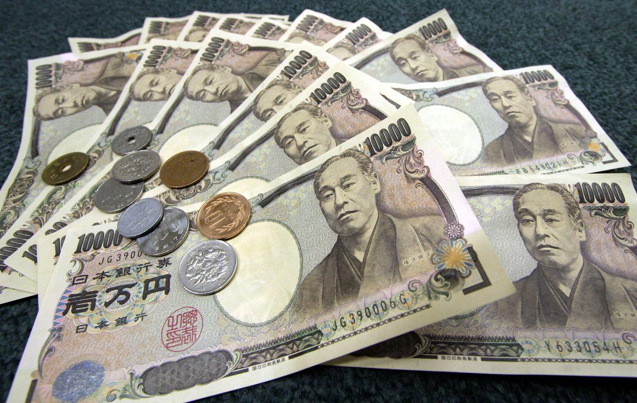 日圓對美元匯率在七分鐘內狂升逾3%。(圖/路透)