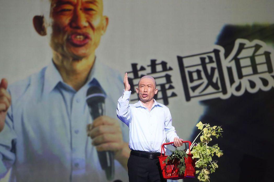 郭子乾首當舞台劇製作人,把「悶鍋」搬上舞台演出。記者徐兆玄/攝影