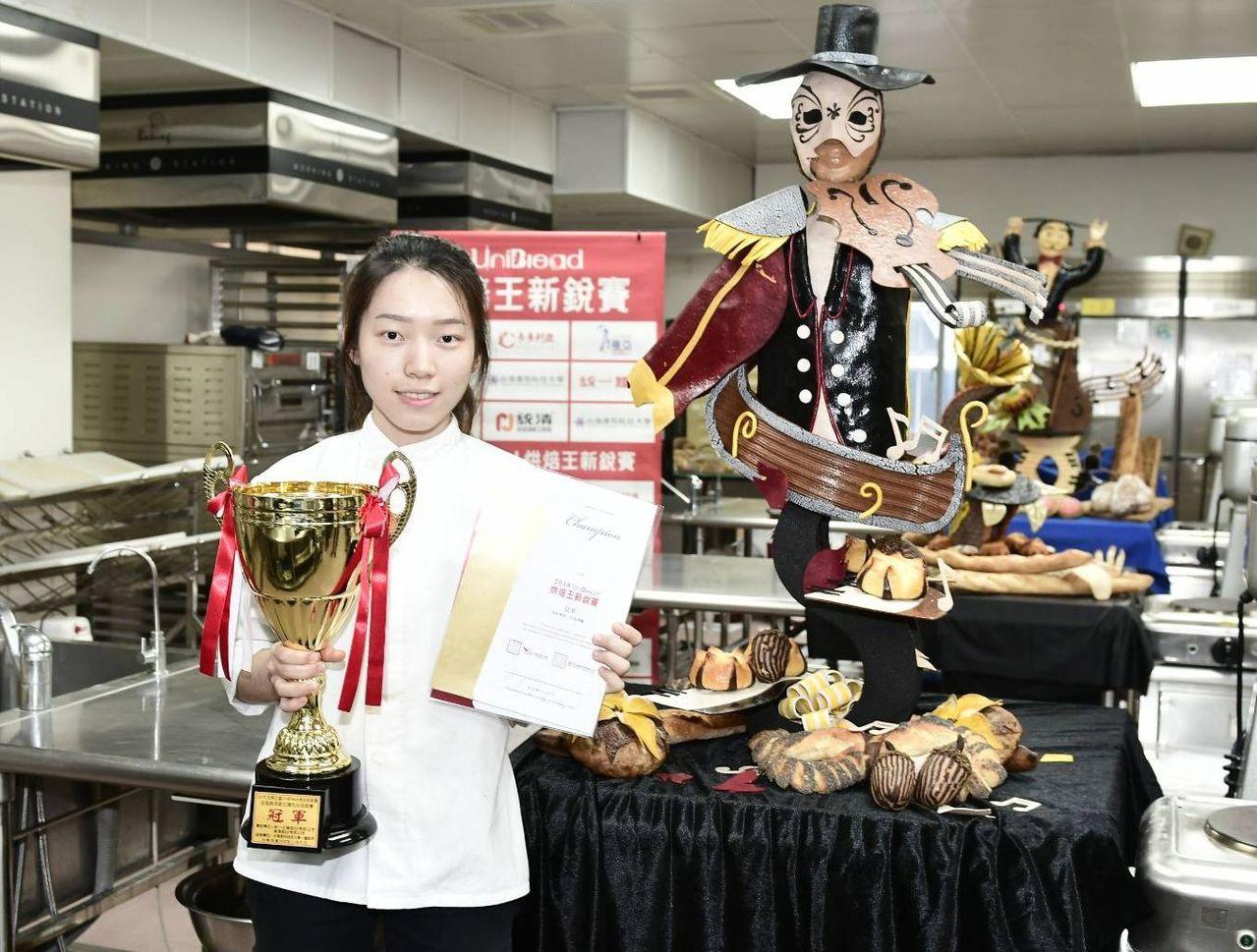 台北實踐大學劉珮珊贏得冠軍與5萬元獎金。圖/主辦單位提供
