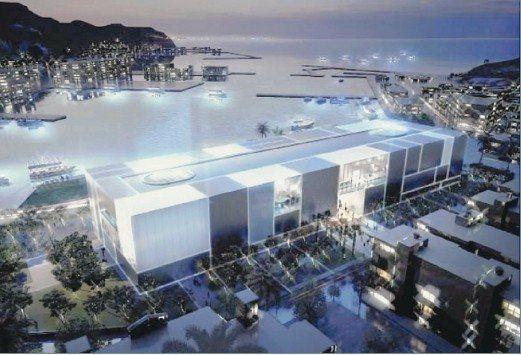 海科館水族館完工示意圖。圖/海科館提供