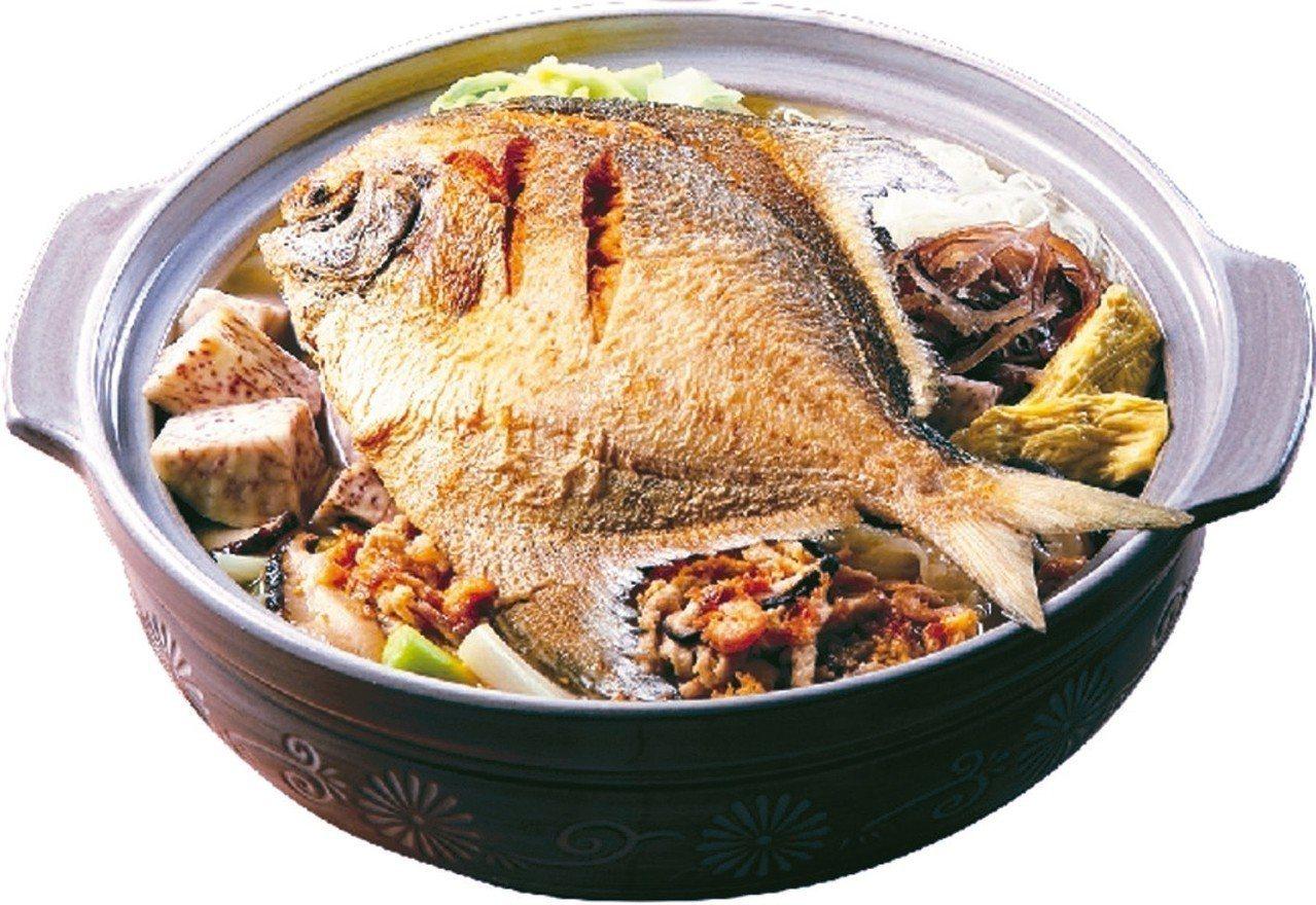 鼎泰豐豐餘白鯧鍋,1,390元。 圖/遠百提供