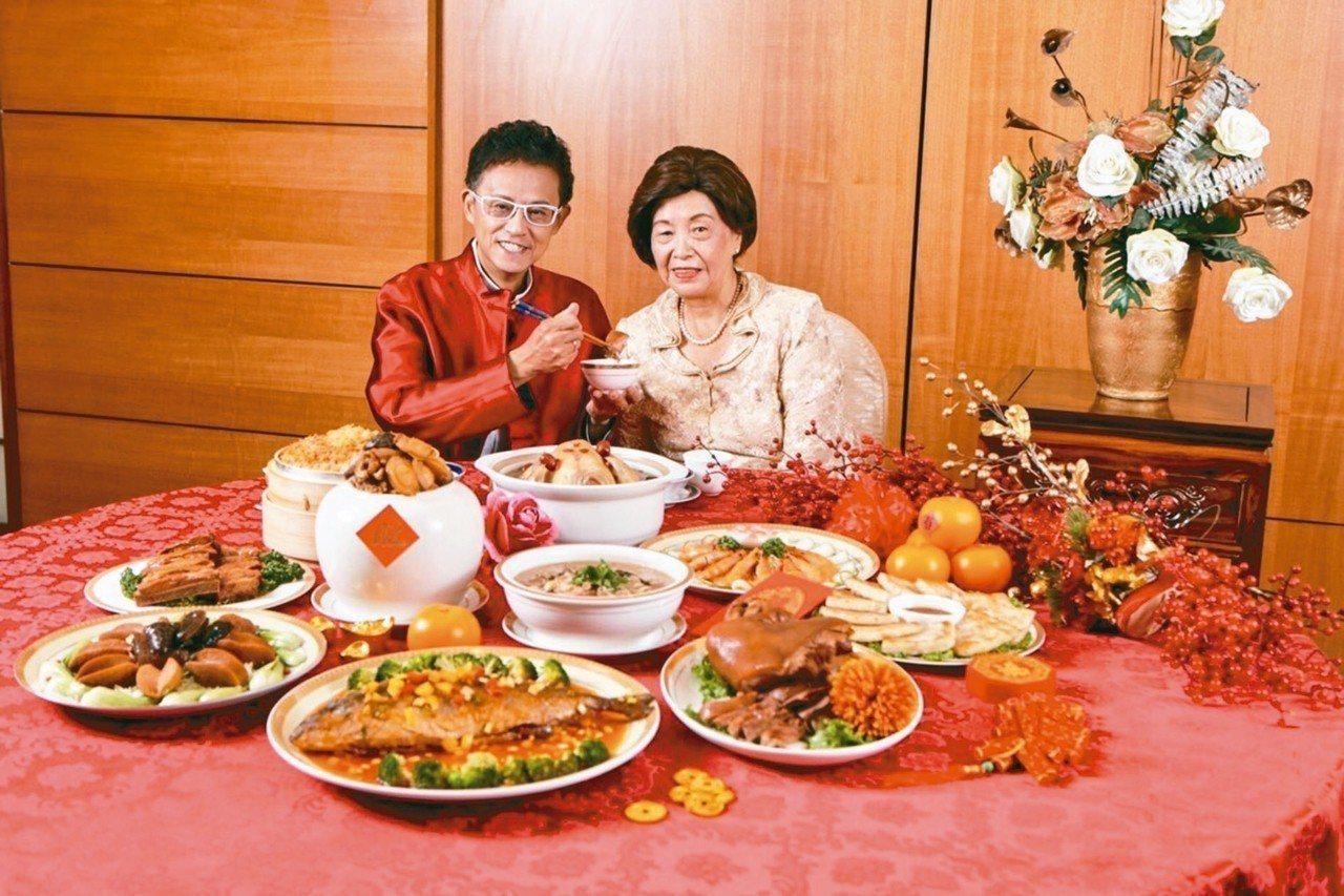 「羅媽咪家傳年菜」每組10道私房菜,將昔日的除夕家宴變為年菜饗宴。 圖/阿瘦皮鞋...