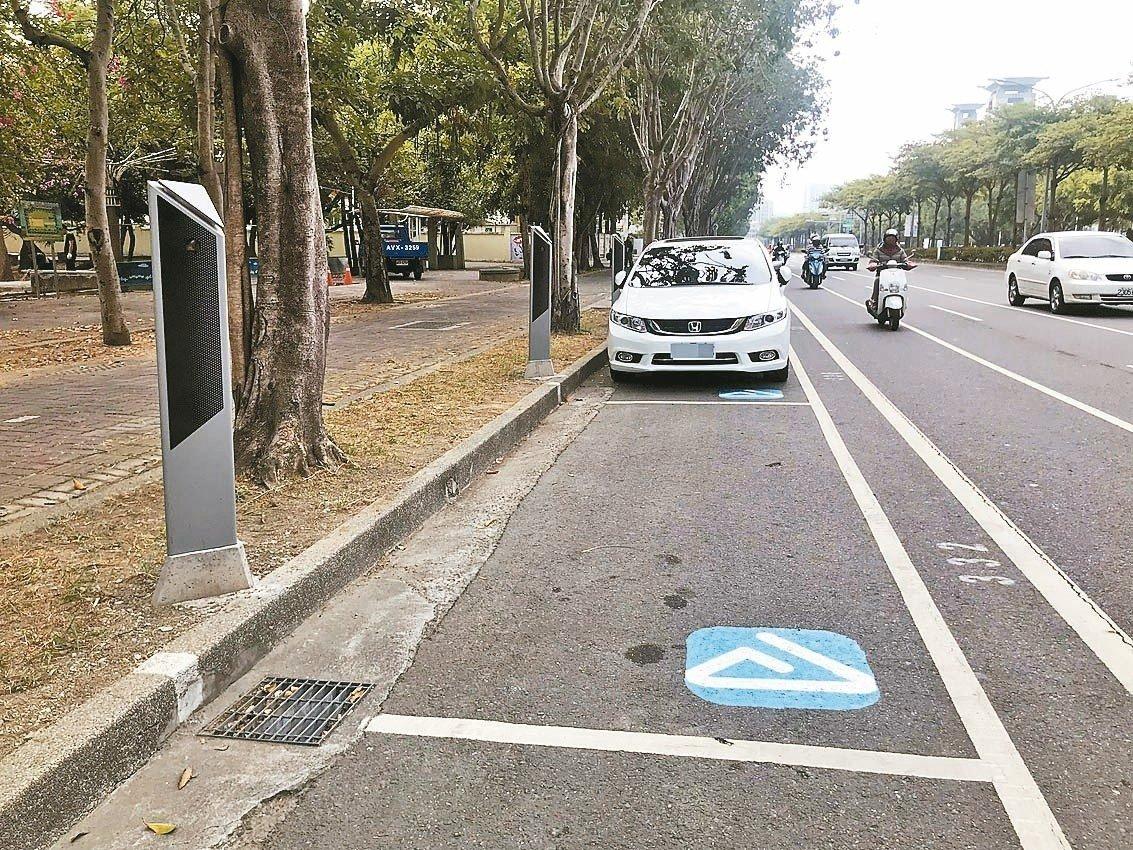 台南智慧停車收費系統將於農曆過年後啟用。 記者鄭維真/攝影
