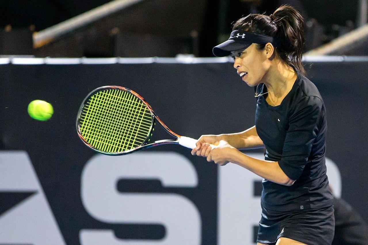 台灣網球「一姊」謝淑薇(圖)雪梨網賽16強止步。 法新社