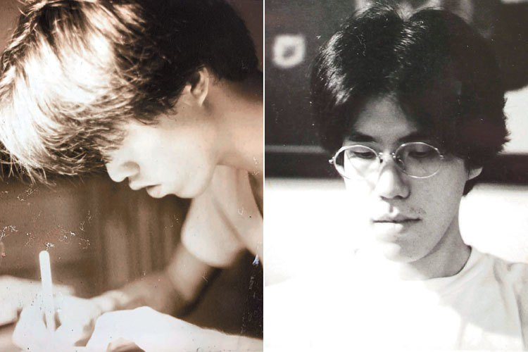 左圖:黃威融當兵前,馬世芳為他拍的照片。(圖/黃威融提供)右圖:1997-9...