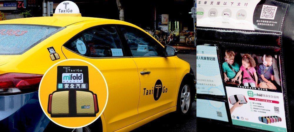 TaxiGo兒童安全乘車優惠申請非常踴躍。TaxiGo/提供