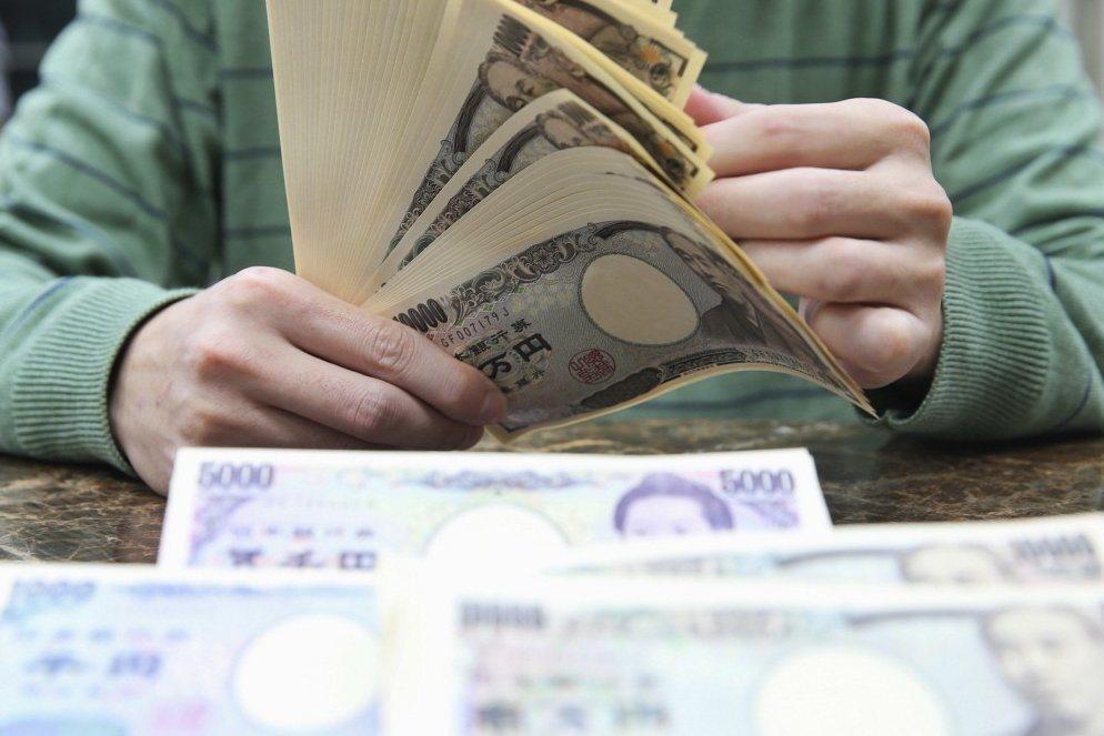 避險情緒帶動日圓大幅升值,本周日圓匯率升值3%。 聯合報系資料照