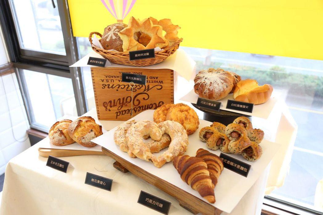 帕莎蒂娜烘焙坊麵包新品1月中上市。  帕莎蒂娜 提供
