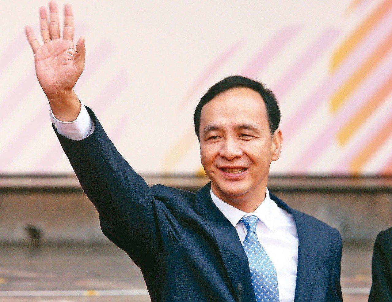 前新北市長朱立倫(圖)說,九二共識跟一國兩制完全是兩回事,中華民國從過去、現在到...