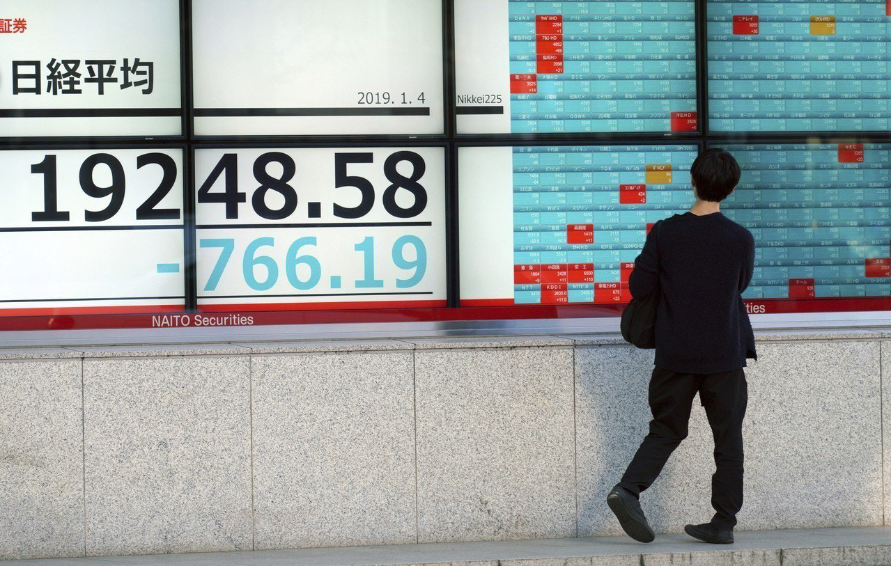 日圓匯率近期變動劇烈。 美聯社