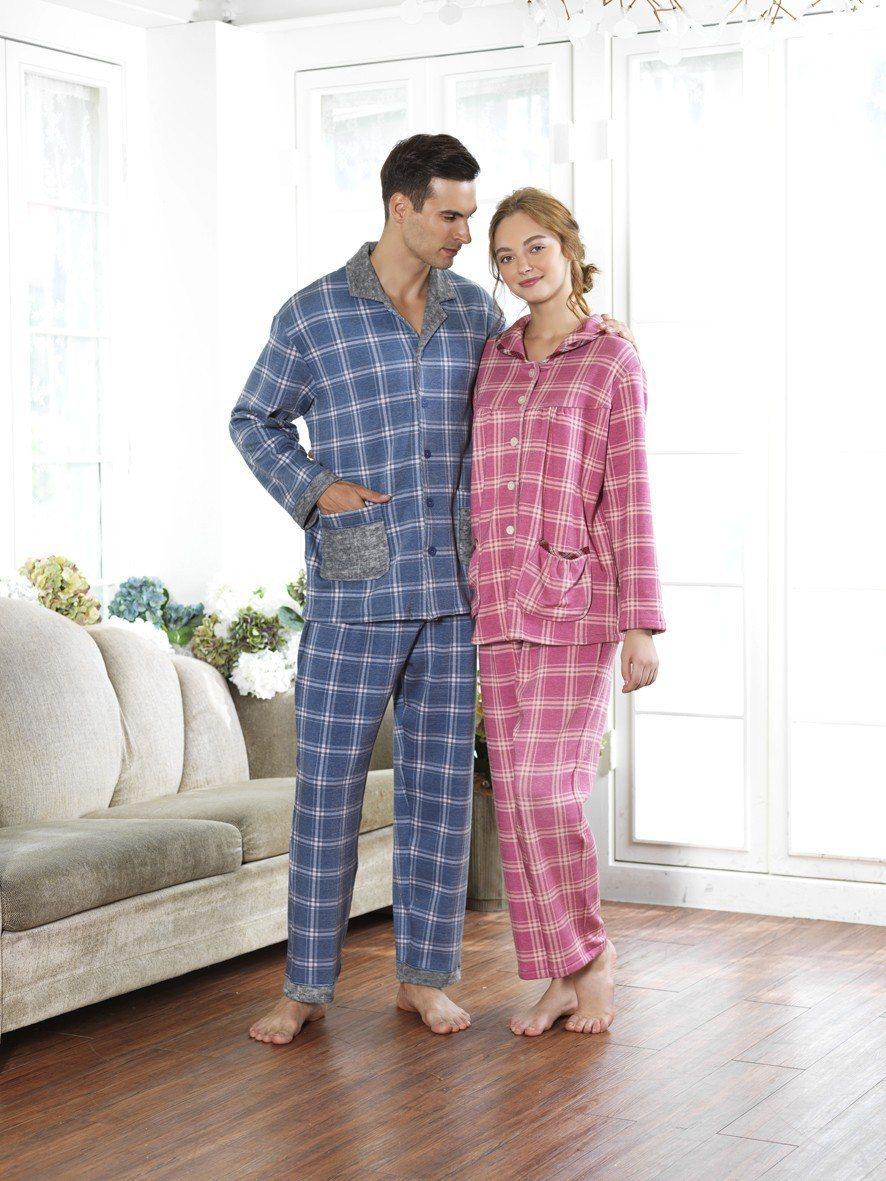 MONTAGUT居家情侶睡衣特價980元起。 MONTAGUT/提供