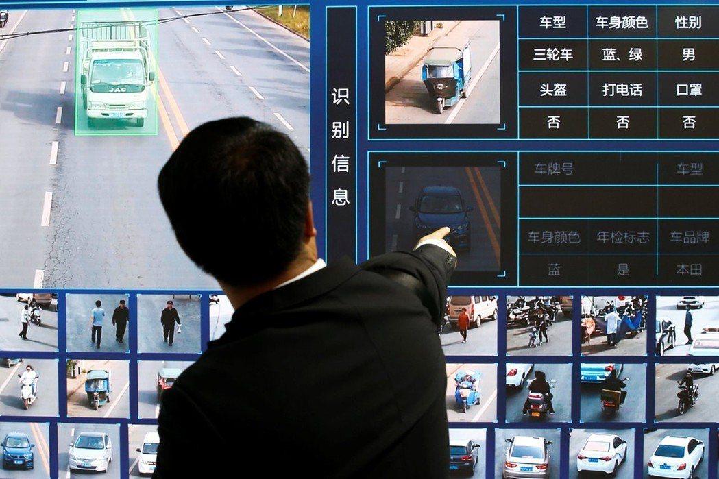 2018年於北京所舉辦的中國國際社會公共安全產品博覽會,安防公司天地偉業展示交通...