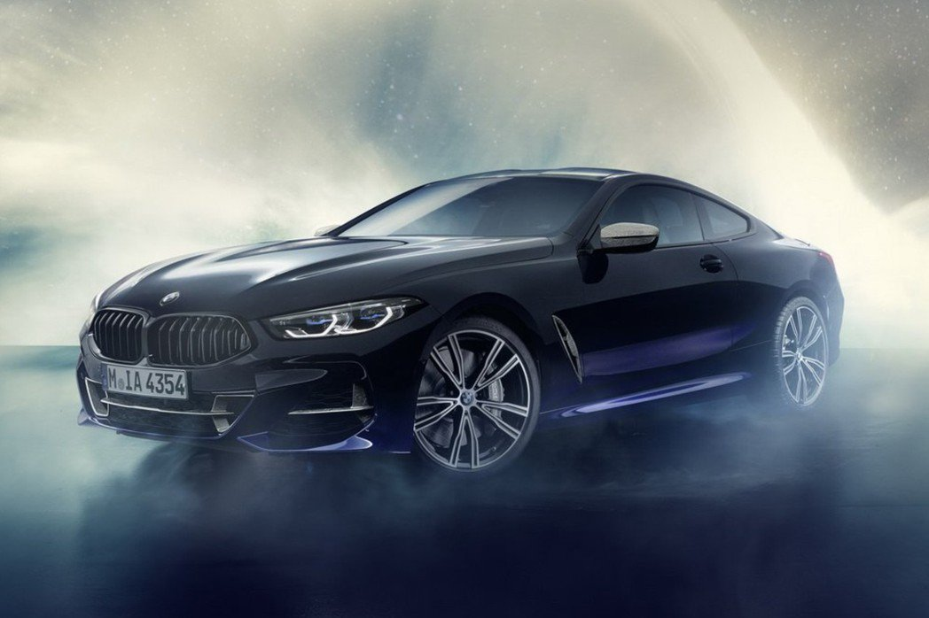 BMW M850i Night Sky Edition。 摘自BMW