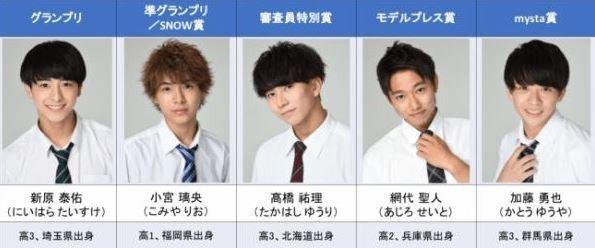 日本最帥高中生出爐,網友看了秒圈粉。圖擷自BIGLOBE