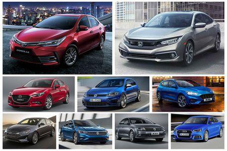 Honda Civic衝上家庭都會級距銷售第二,但Toyota Corolla依舊稱霸市場!