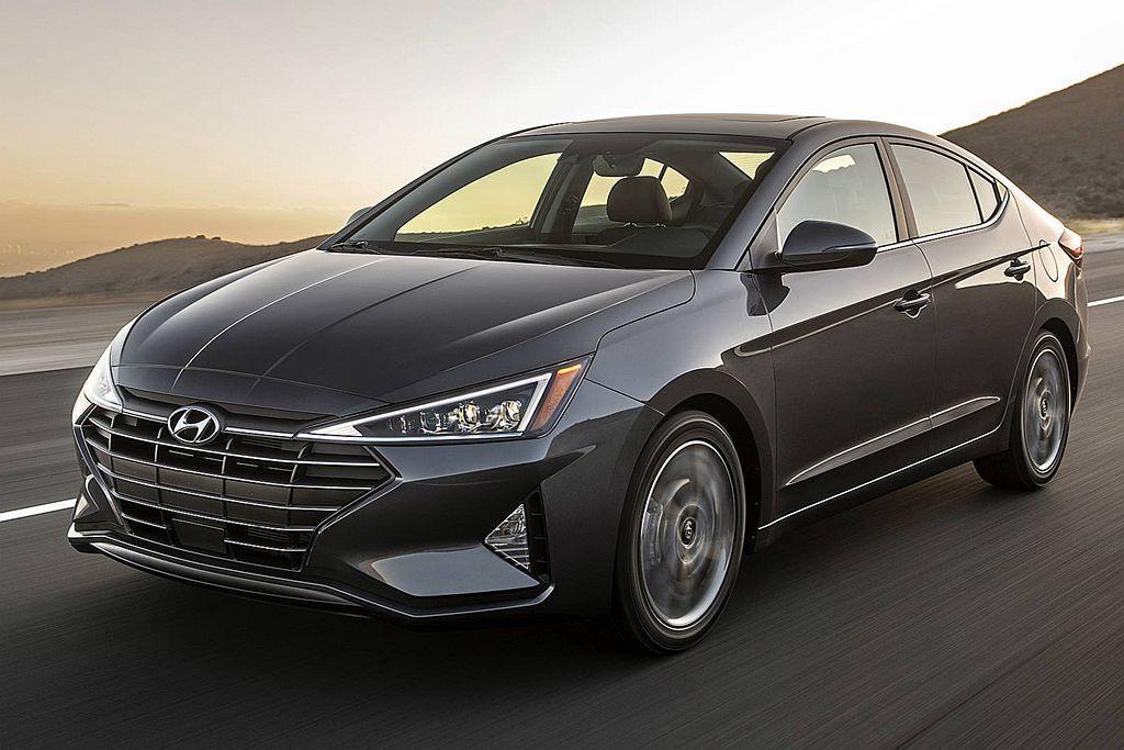 Hyundai Elantra以總銷售65.8萬輛成長4.5%的成績,衝上全球都...