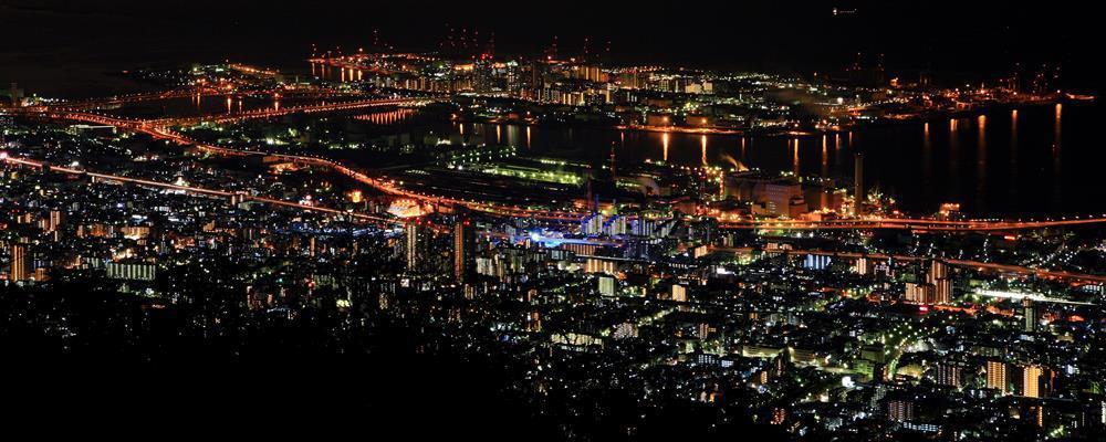 【摩耶山夜景】。 圖/神戶正式觀光官網