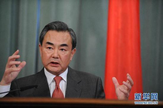 中共國務委員兼外交部長王毅。(新華網)