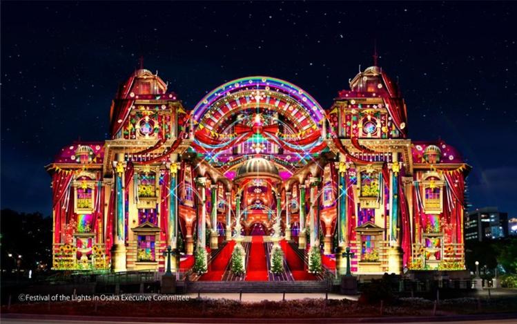 大阪光之饗宴為大阪每年紀念阪神地震的年度代表性活動。圖/大阪光之饗宴官方網站擷取