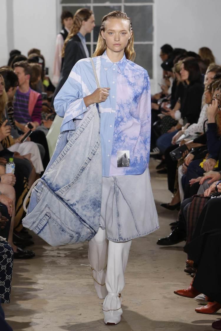 雙人設計師品牌Proenza Schouler的服裝,具有強烈特色,深受美國上城...