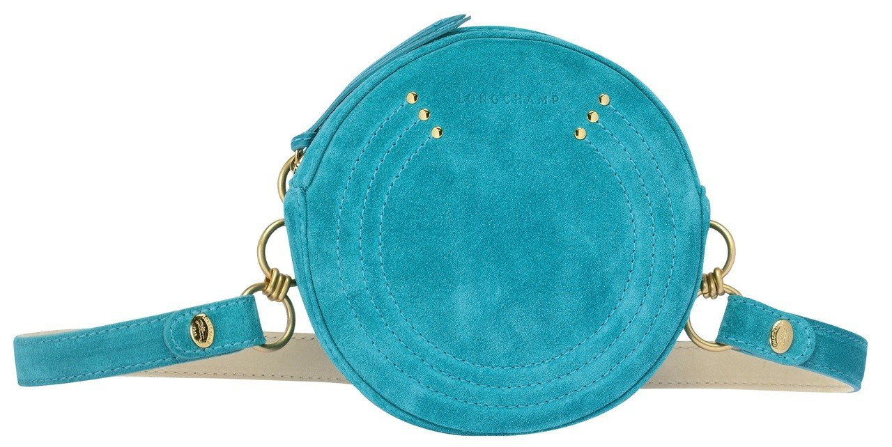 Cavalcade Wild翡翠綠腰包,售價13,200元。圖/LONGCHAM...