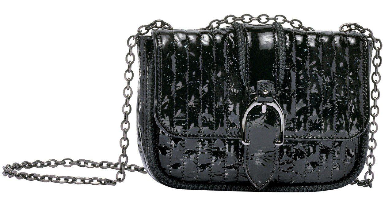 Amazone Matelasse Vernis黑色荷篷包XS款,售價28,60...