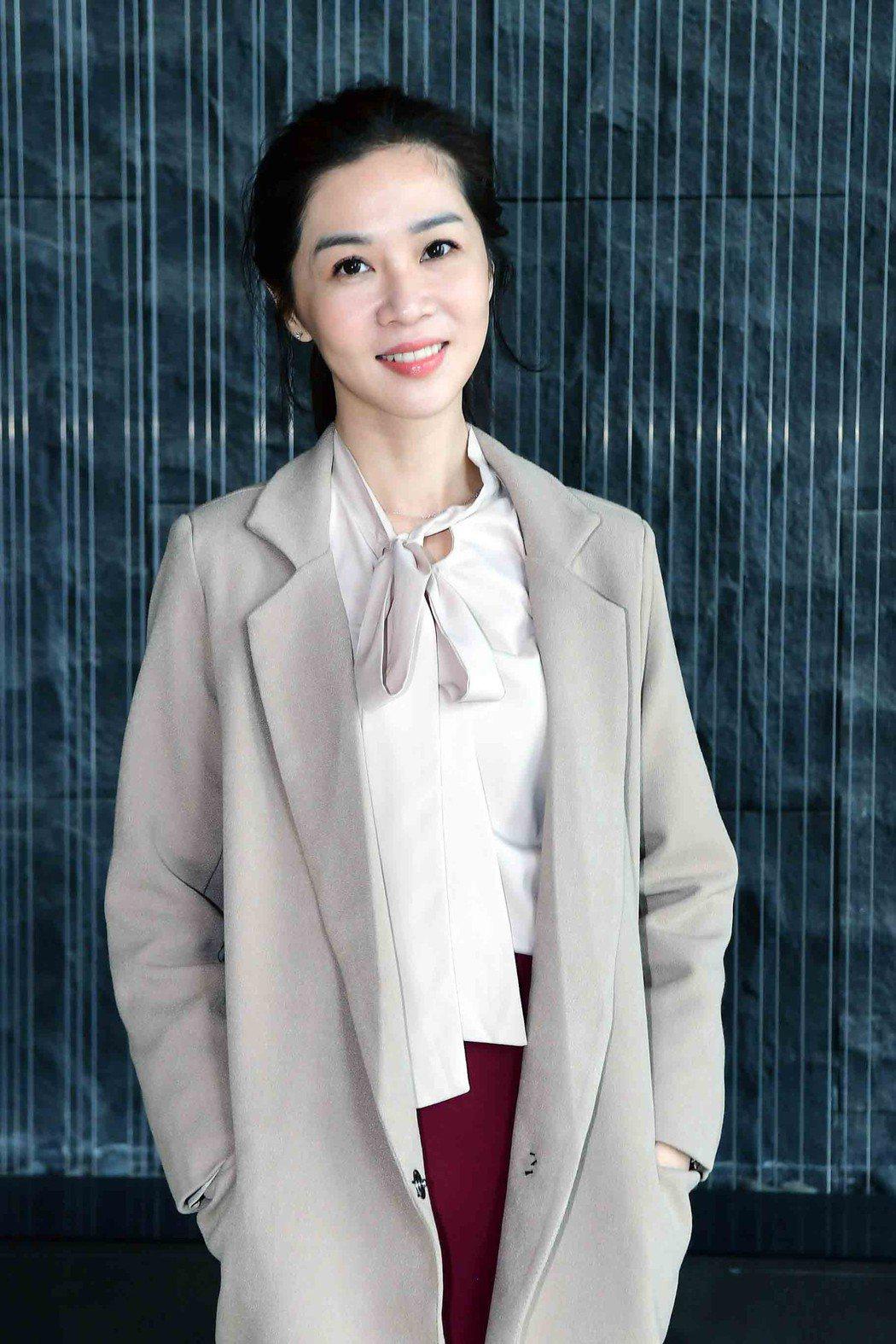 謝盈萱演出「俗女養成記」開鏡。圖/華視提供
