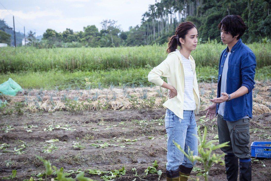 陳庭妮(左)、劉以豪在劇中大吵。圖/歐銻銻娛樂提供