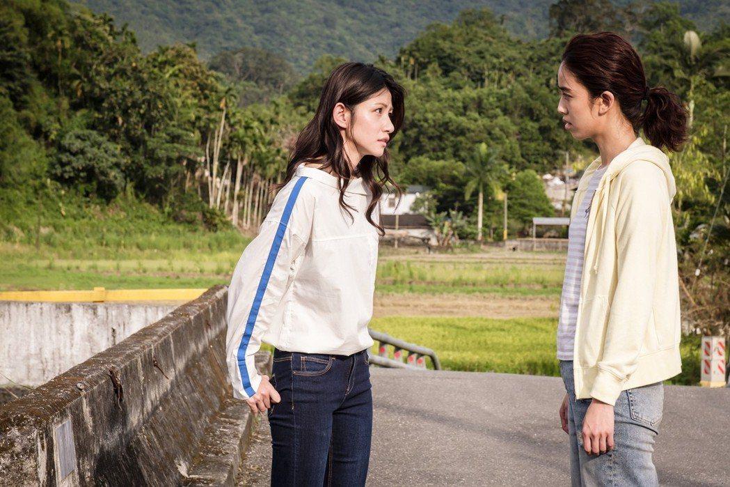 陳庭妮(右)、李千那在「種菜女神」有情感衝突。圖/歐銻銻娛樂提供