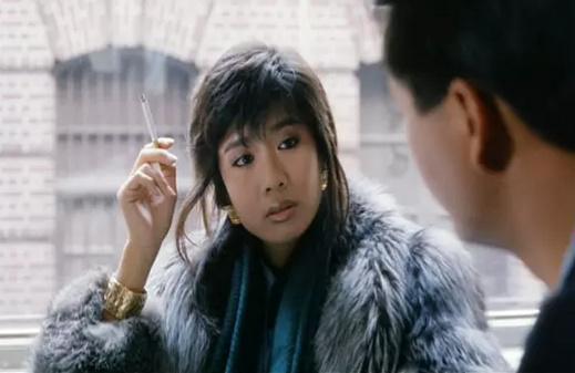 吳家麗本來不是「龍虎風雲」女主角第一人選。圖/翻攝自YouTube