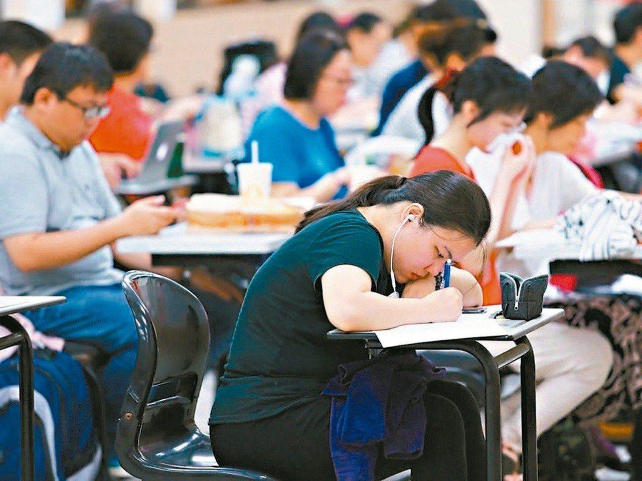 考試院通過修正專技高考建築師考試規則。 圖/聯合報系資料照片
