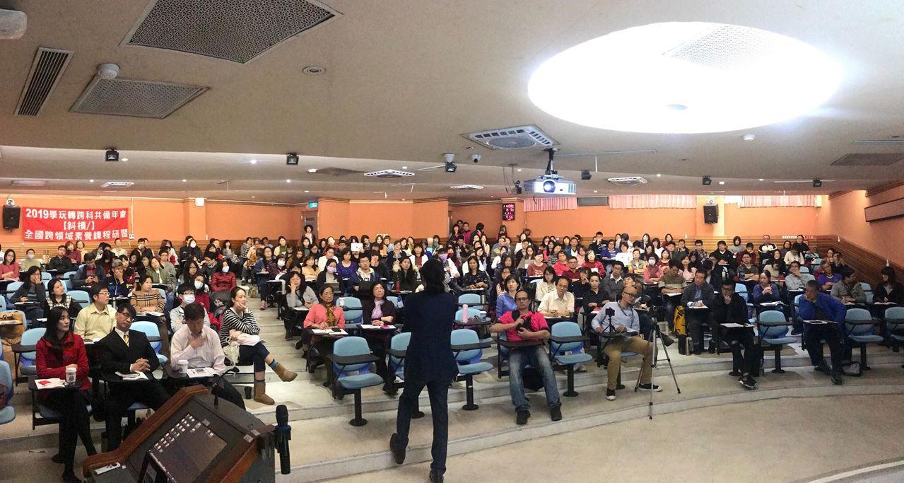 通科大講堂超過200位跨領域教師共學。圖/宋怡慧老師提供