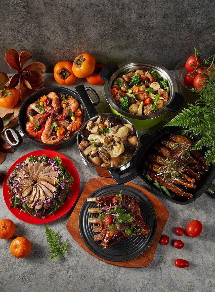 瑞康屋鮮製年菜共六道菜